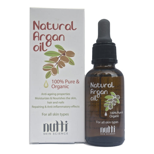Nutti, Natural Argan Oil (30 ml)- Koyara