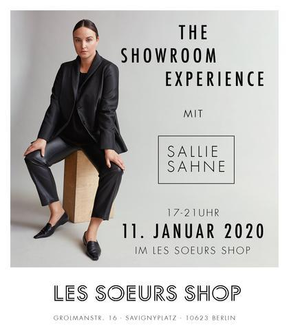 The Showroom Experience - Exklusives Pre-Order Event mit Sallie Sahne