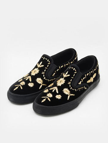 Superga Velvet Slip On