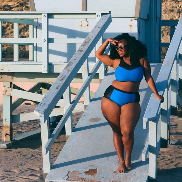 Plus Size Fashion Beachwear