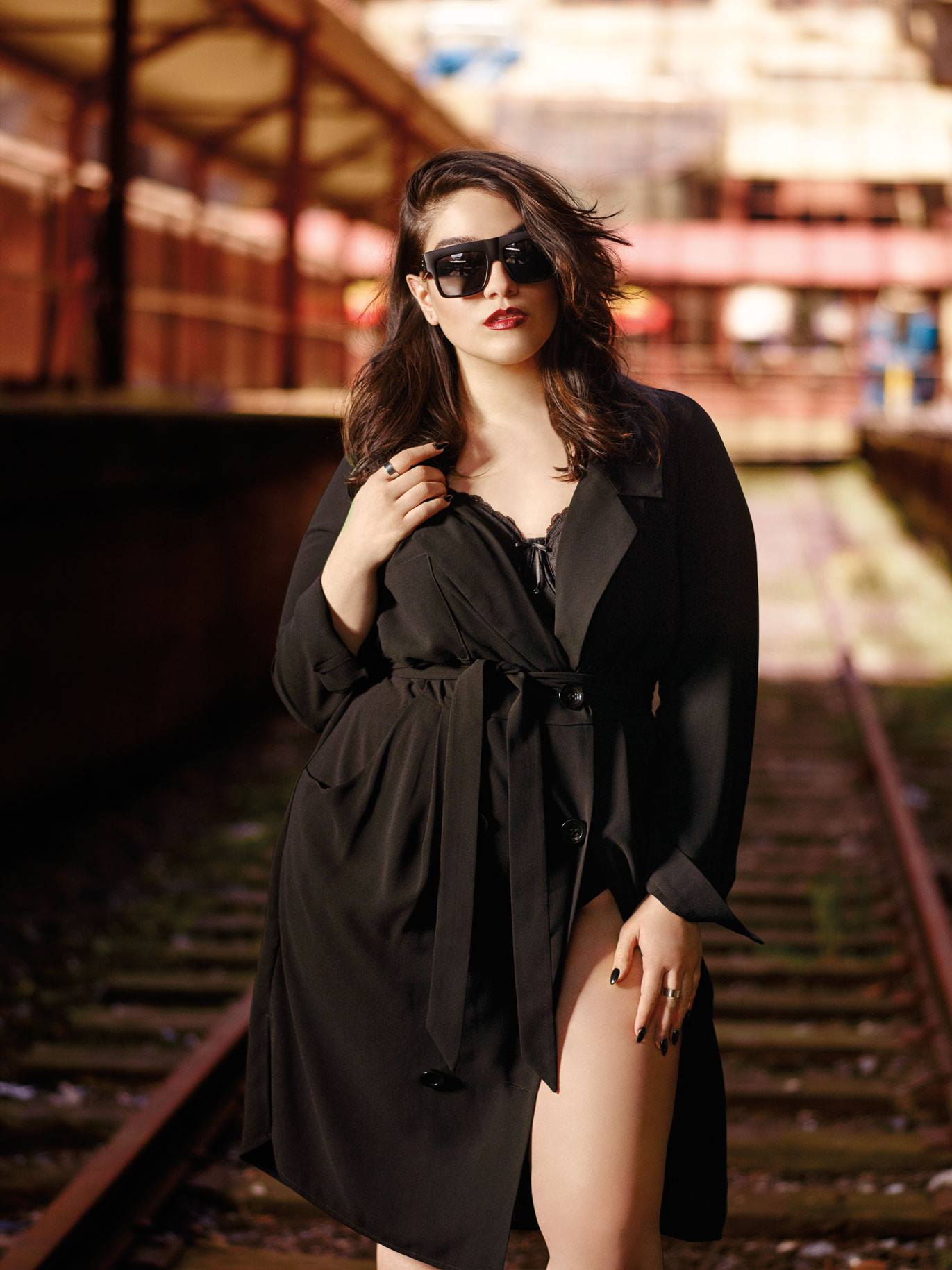 Plus Size Fashion Week UK Nadia Aboulhosn