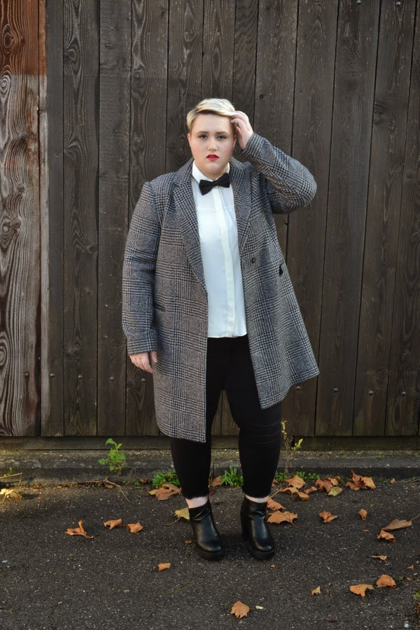Plus Size Office Style Dressing outside the box