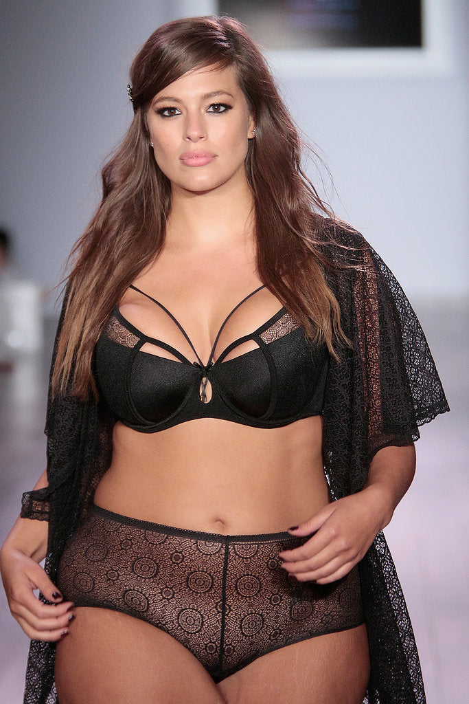 Plus Size Fashion Week Ashley Graham Lingerie