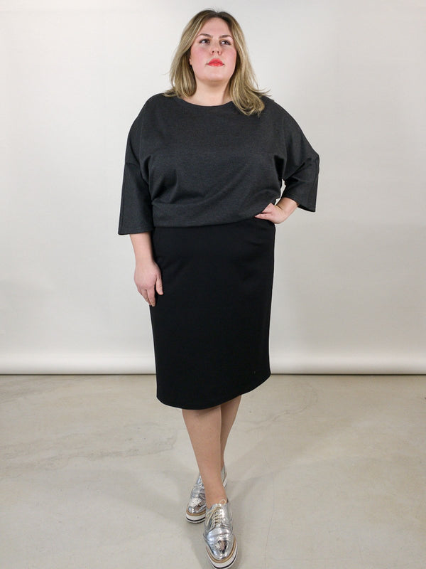 Jersey Skirt - Schwarz Loved by Les Soeurs Shop