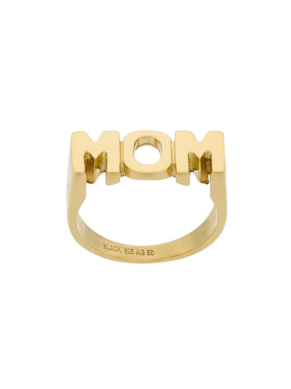 MOM Ring - Gold Maria Black