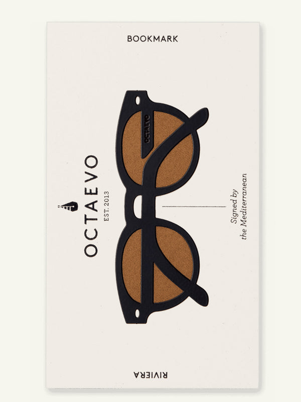 Octaevo - Barcelona- bookmark-riviera-black-II