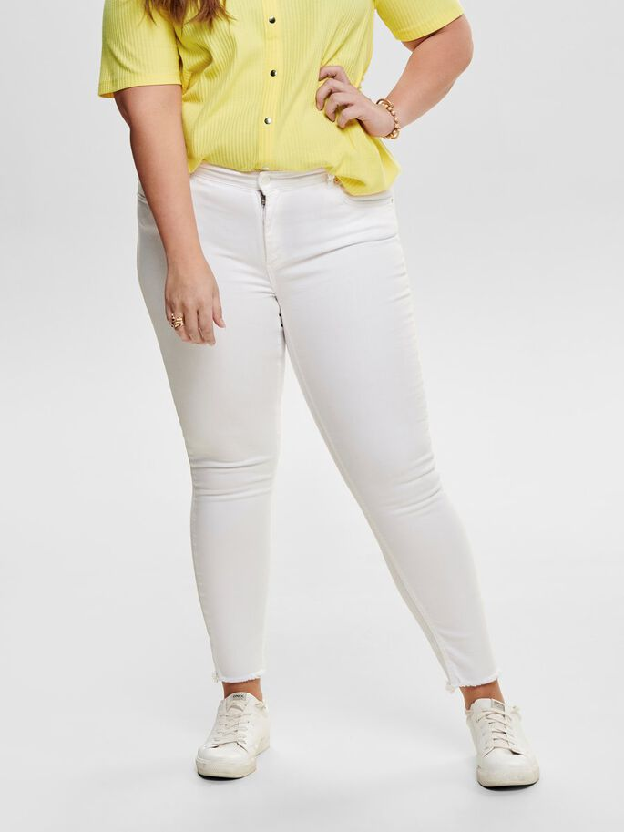 Only-Carmakoma-Weiße-Skinny-Jeans-15176825-White-IV