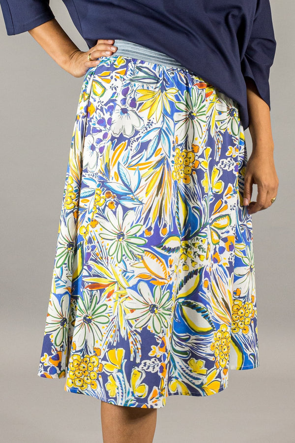 Palermo Skirt - Sicily Print Loved by Les Soeurs Shop