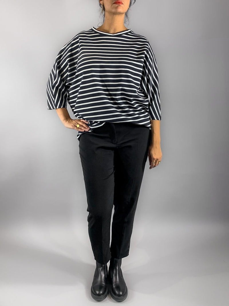 Perfect Sweater - Black Stripes Loved by Les Soeurs Shop
