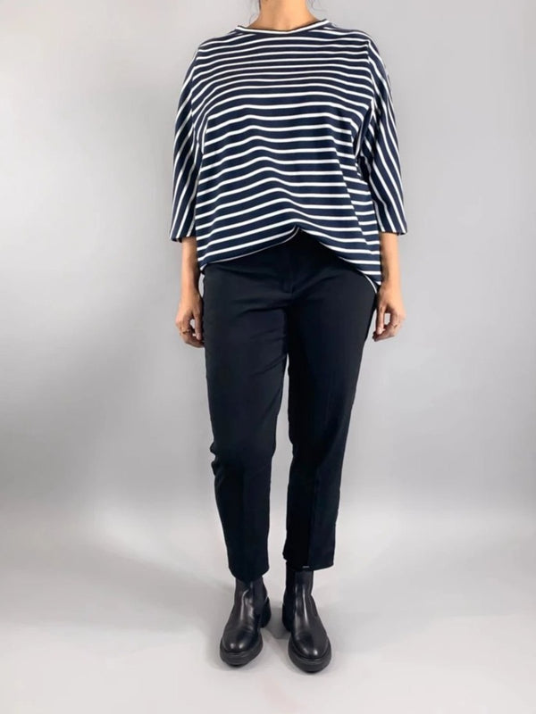 Perfect Sweater - Navy Stripes Loved by Les Soeurs Shop