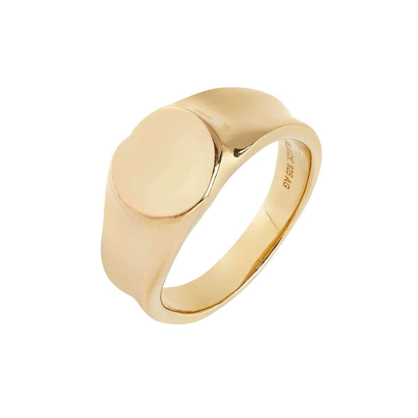 "Ring ""Peach"" Gold Maria Black"