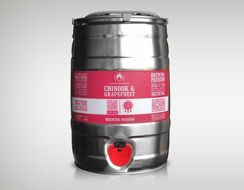 Chinook & Grapefruit 5 Litre Mini Keg