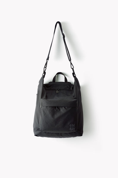 Copy of Small black nylon diaper bag