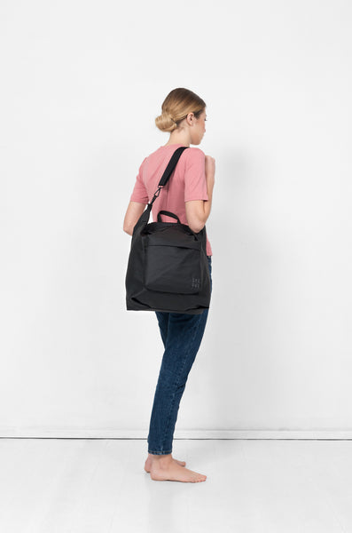 Copy of Big Black nylon diaper bag