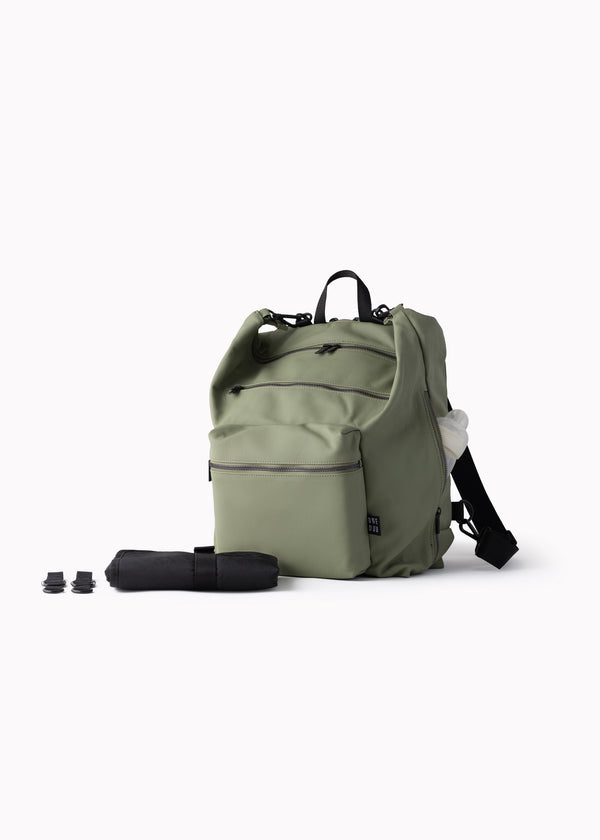 Big Canvas Diaper Bag | Pistachio Green