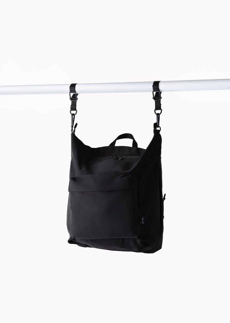 Small Nylon Diaper Bag | Black