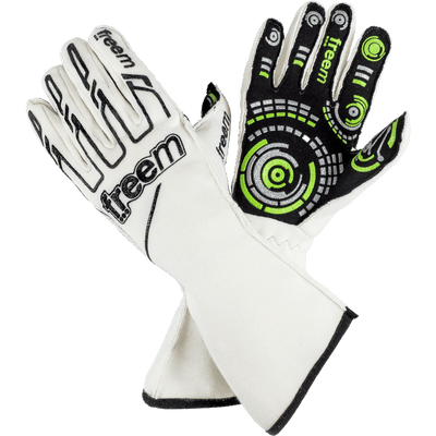 FreeM UK Gloves 8 / White Senso 16 Gloves