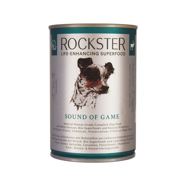 Sound Of Game - Wild Venison Dog Food | The Rockster - The