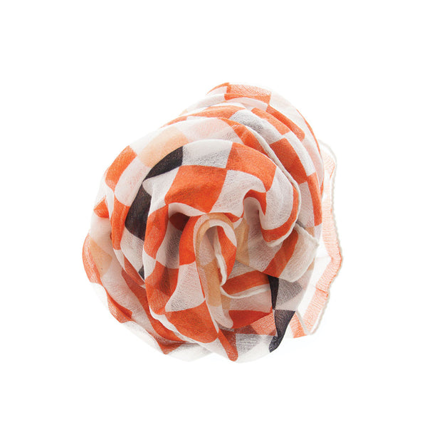 Gift A Cashmere Print Scarf
