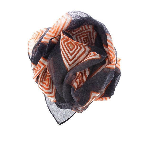 Cashmere Gifts - Luxurious Handprinted Scarf by Ayesha