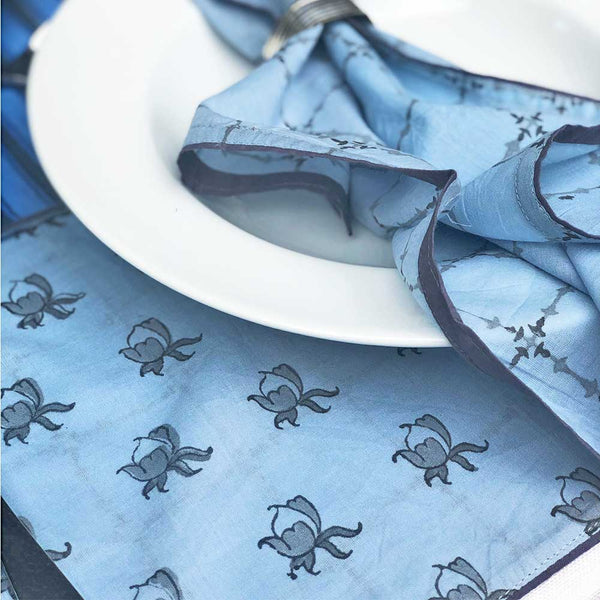 Mix and Match Collection -  Blue, Black and Grey, Rosebud and Diya Runner