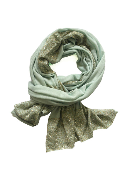 Mint Green Luxury Cashmere Wrap