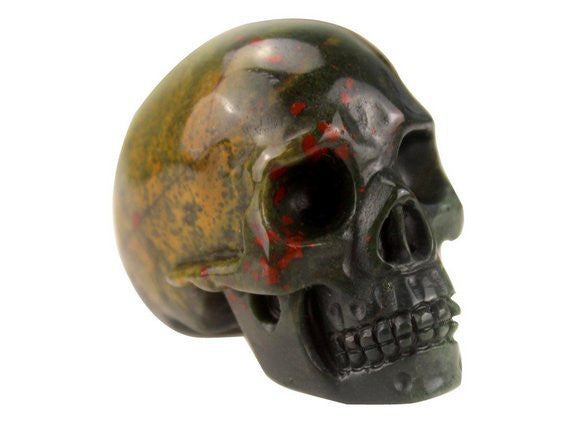 INDIAN AGATE CRYSTAL SKULL