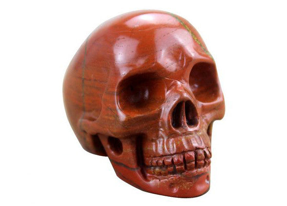 RED JASPER CRYSTALL SKULL