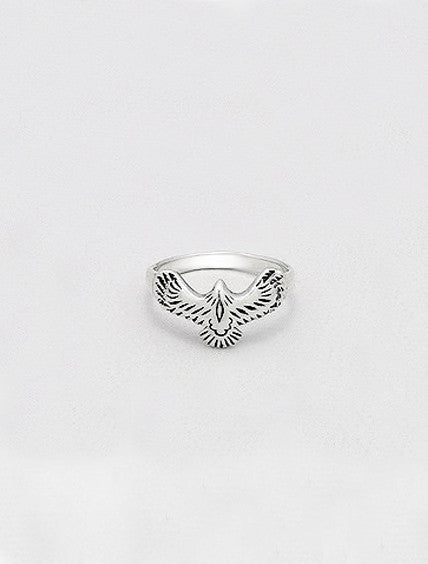 925 SILVER EAGLE RING