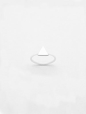 925 SILVER TRIANGLE RING
