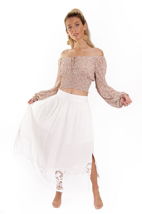 Borderless Maxi Skirt