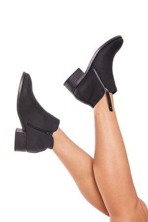Lockley Black Ankle boot