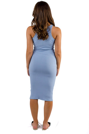 Eilish Midi Dress Blue