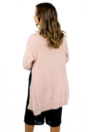 Take My Hand Cardigan Pink