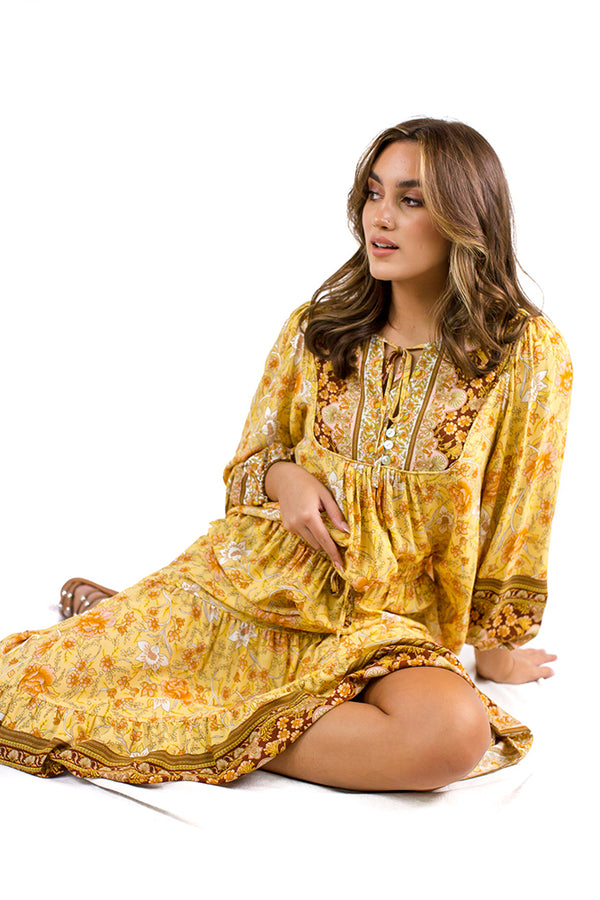Aura Top Yellow