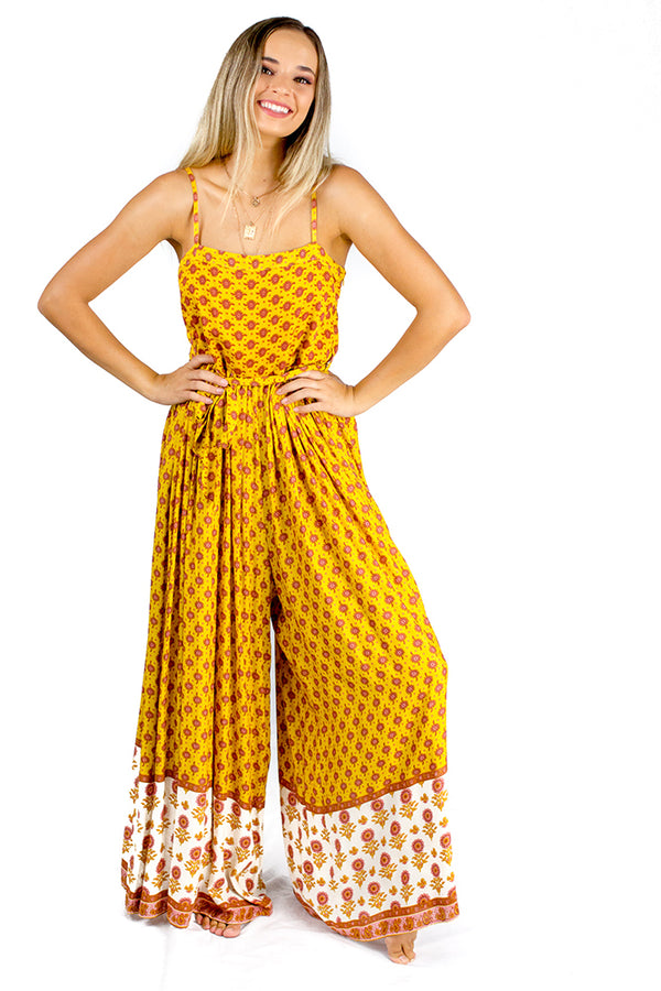 Scarlett Jumpsuit Yellow