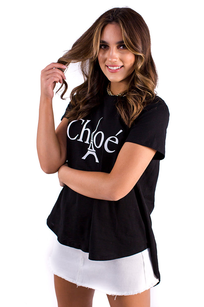 Chloe Top Black
