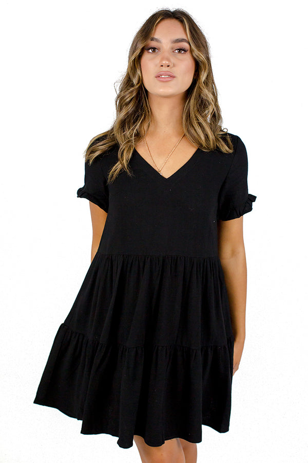 Hero's Heart Dress Black