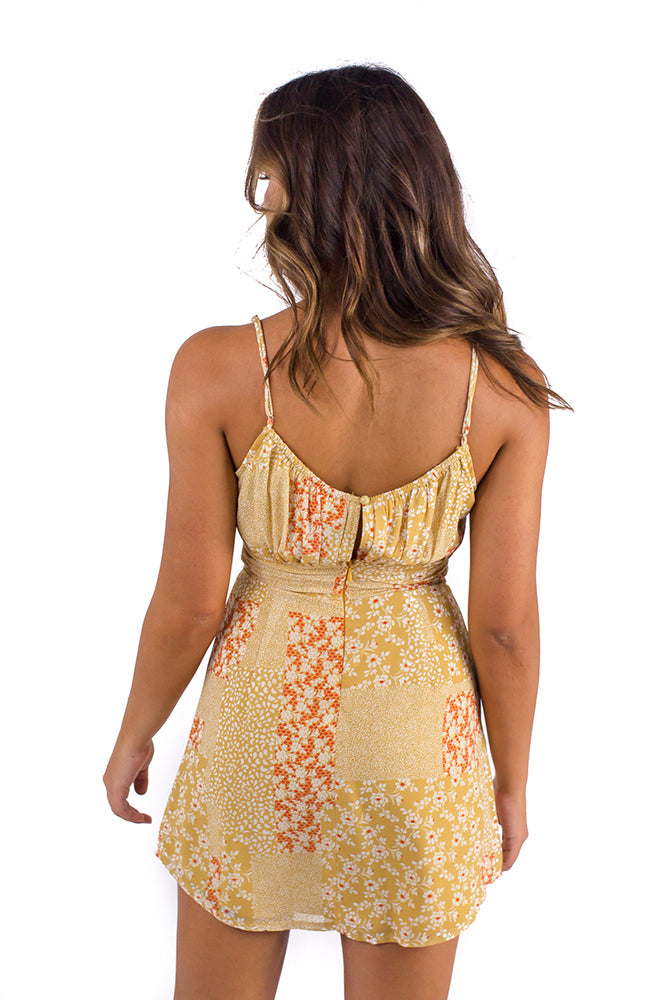 Watch The Sunset Dress Yellow