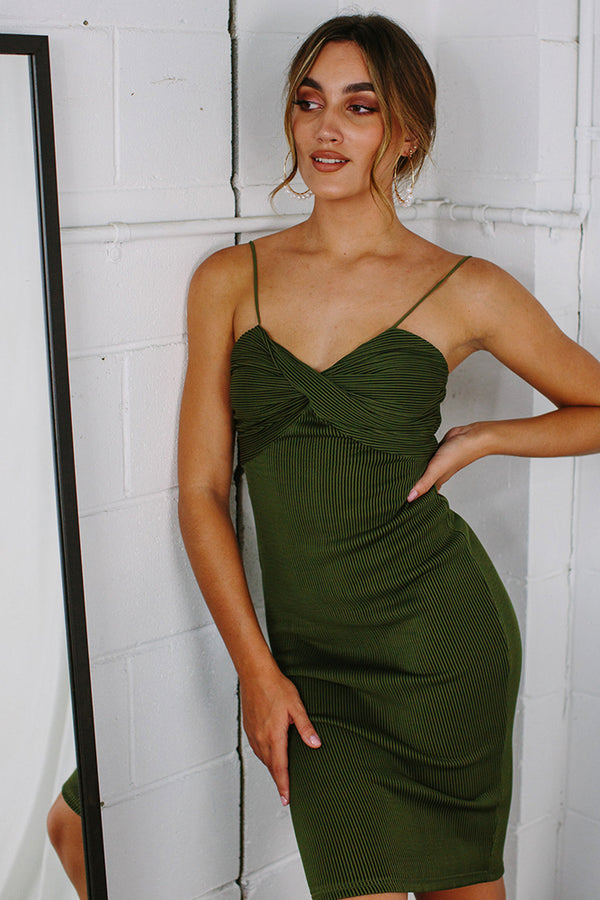 Wicked Games Dress Green