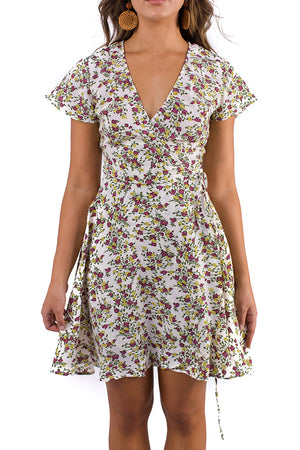 Country Villa Wrap Dress