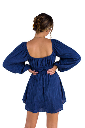 Moonlight Dancing Dress Navy