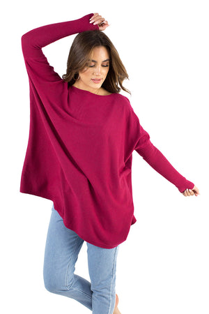 Strawberry Fields Top Dark Pink