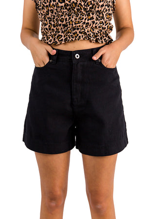 Keep Moving Shorts Black