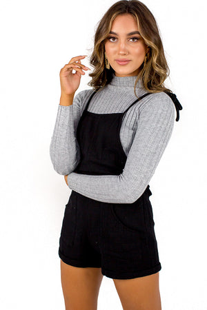 Light Found Dungaree Black
