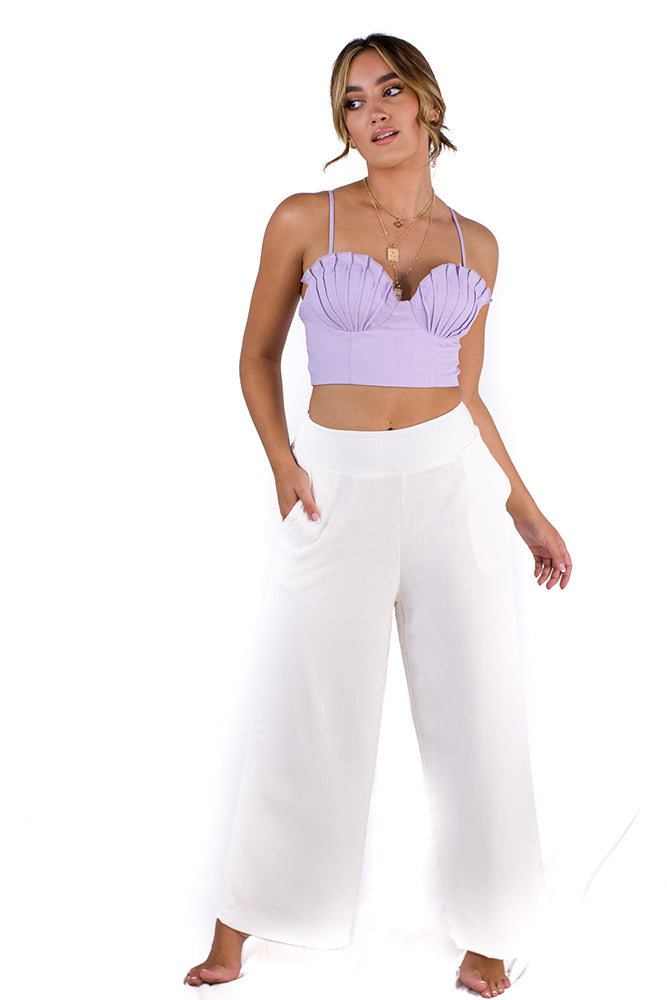 Lavender Muse Top