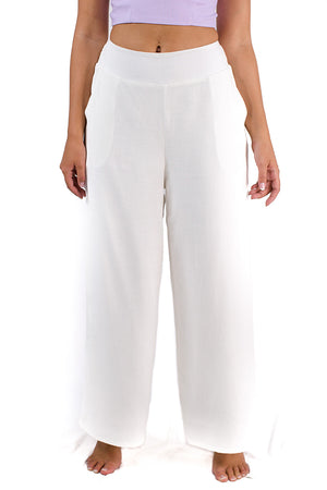 Wander Endlessly Pants White