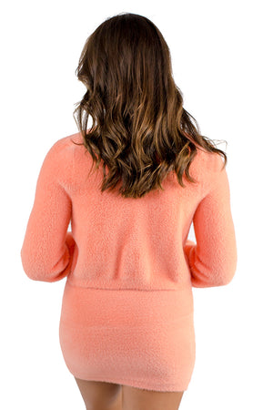 Smooth Operator Cardigan Peach