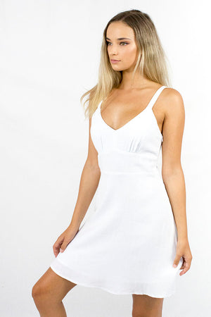 Timeless Dress White