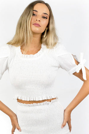 Dominos Top White